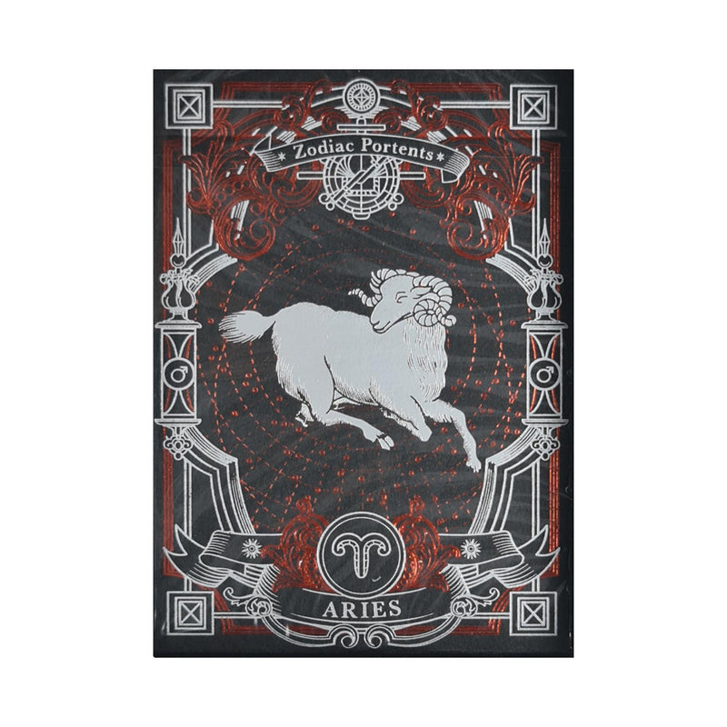 Zodiac Portents Aries Playing Cards