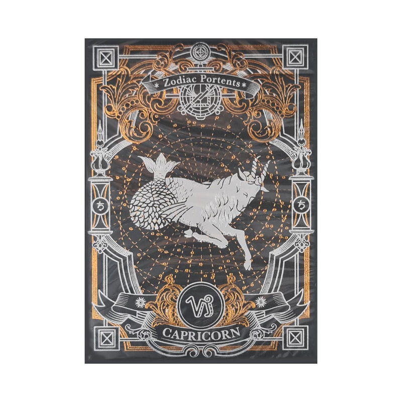 Zodiac Portents Capricorn Playing Cards