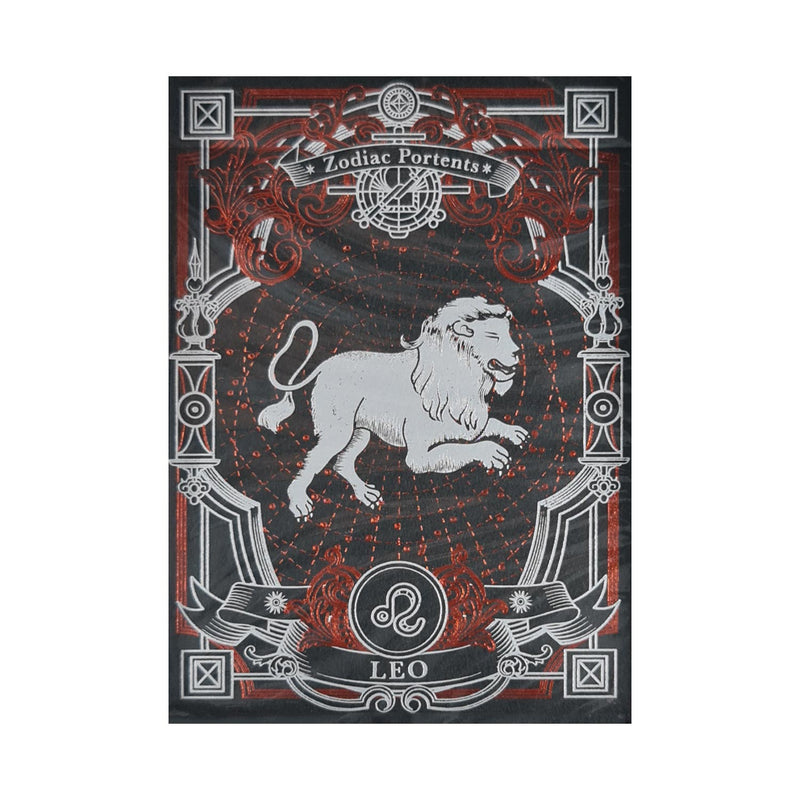 Zodiac Portents Leo Playing Cards