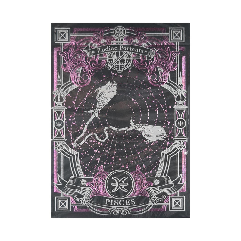 Zodiac Portents Pisces Playing Cards