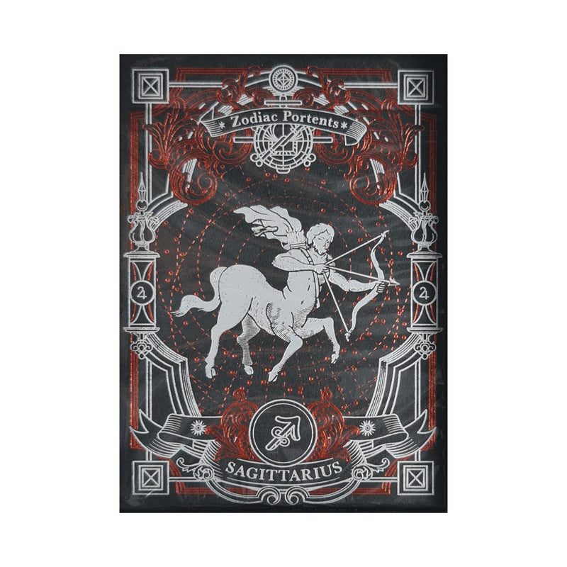 Zodiac Portents Sagittarius Playing Cards