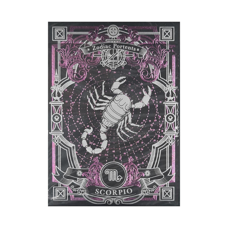 Zodiac Portents Scorpio Playing Cards