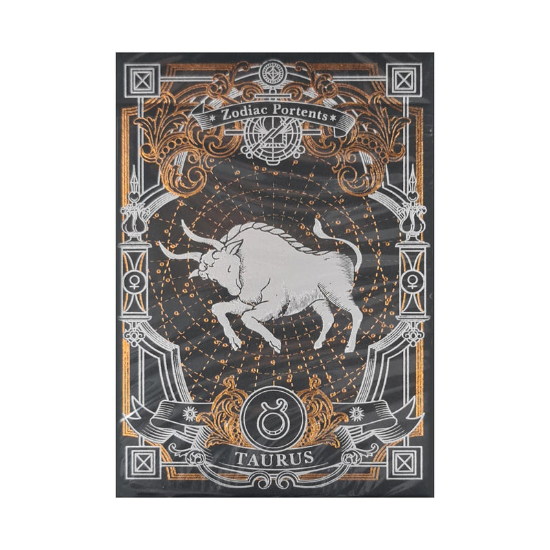 Zodiac Portents Taurus Playing Cards
