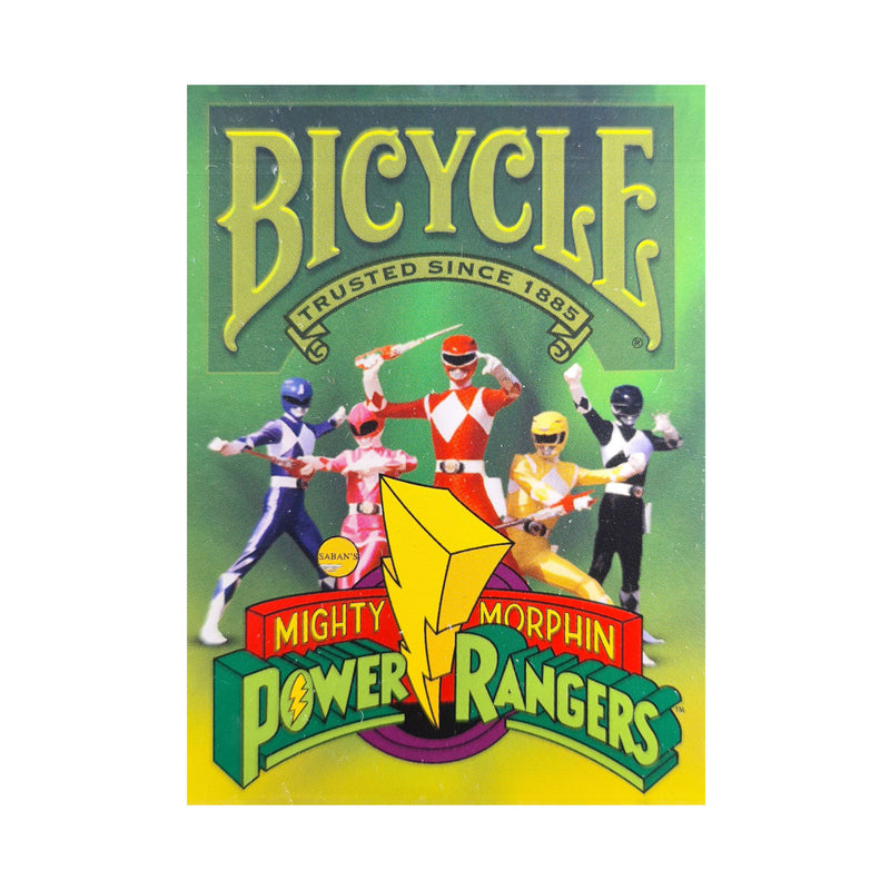 Bicycle Power Rangers Playing Cards