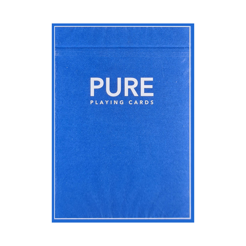 Pure Blue (Marked) Playing Cards