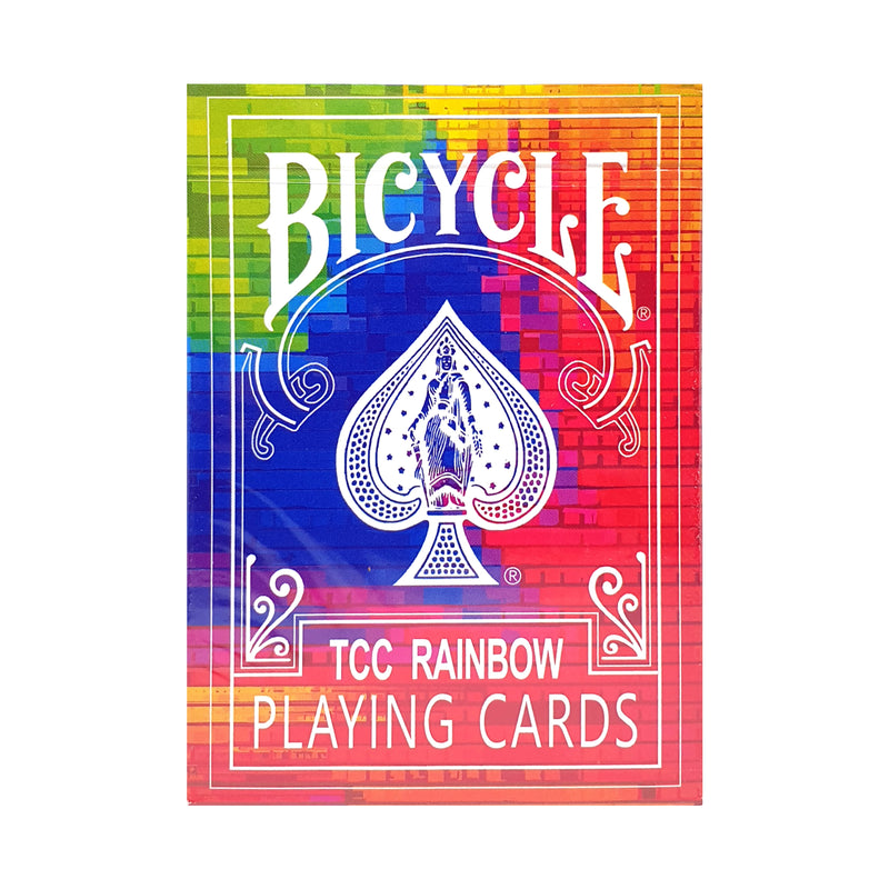 Bicycle Rainbow TCC Playing Cards