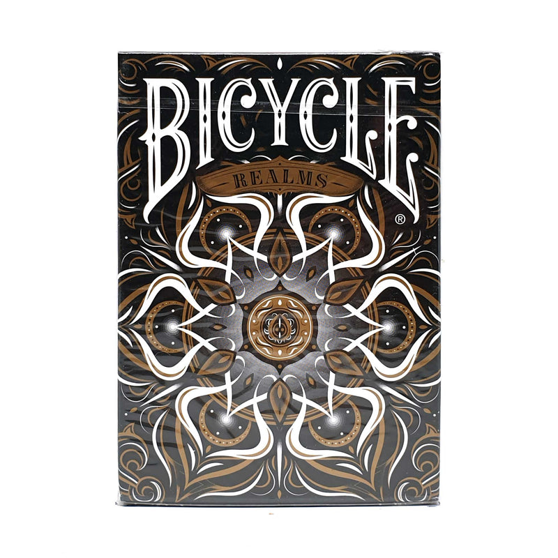Bicycle Realms Black Playing Cards