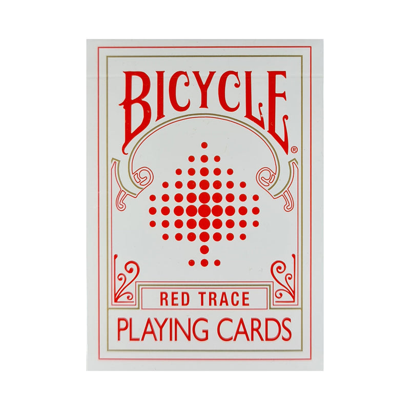 Bicycle Trace Red Playing Cards