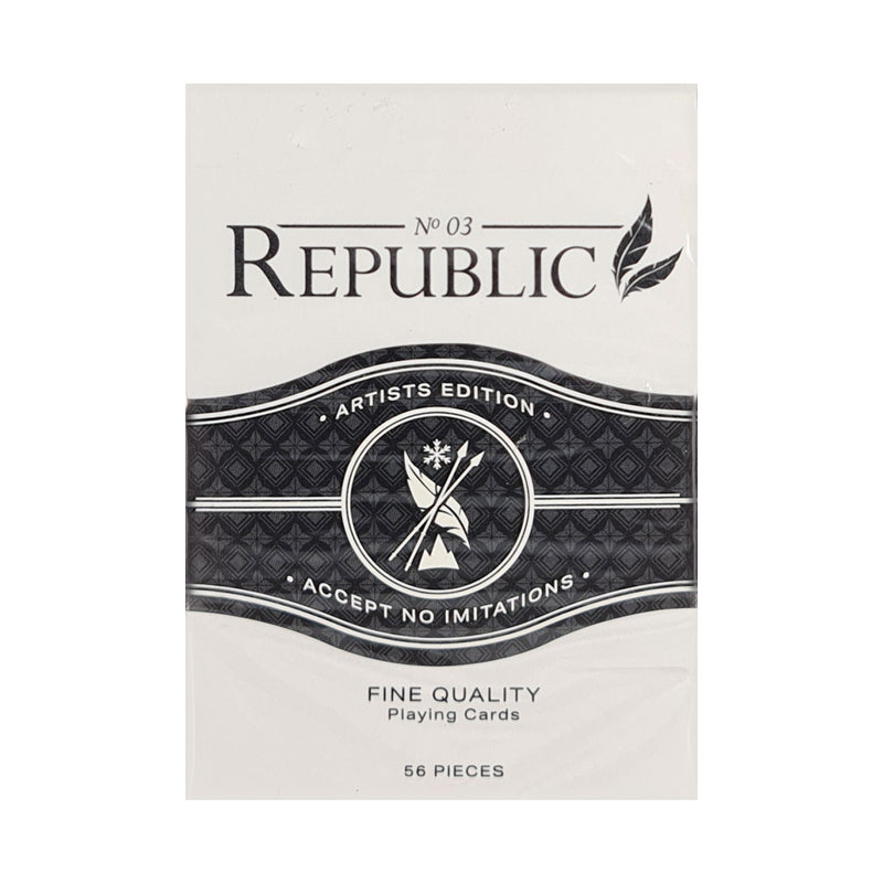 Republic No. 3 Artist Edition Playing Cards