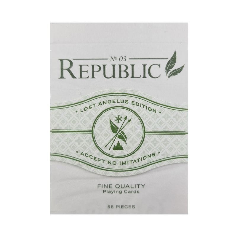 Republic No. 3 Lost Angelus Edition Playing Cards