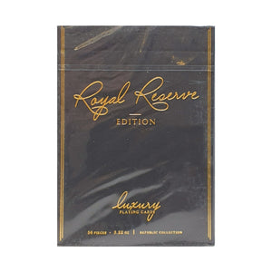 Royal Reserve Black Private Reserve Playing Cards