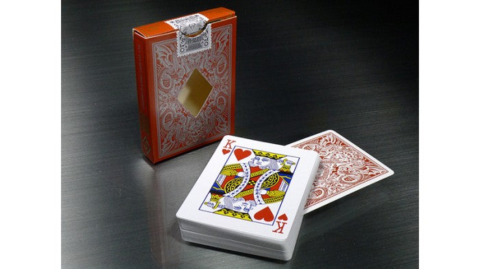 Legends V2 Red Playing Cards