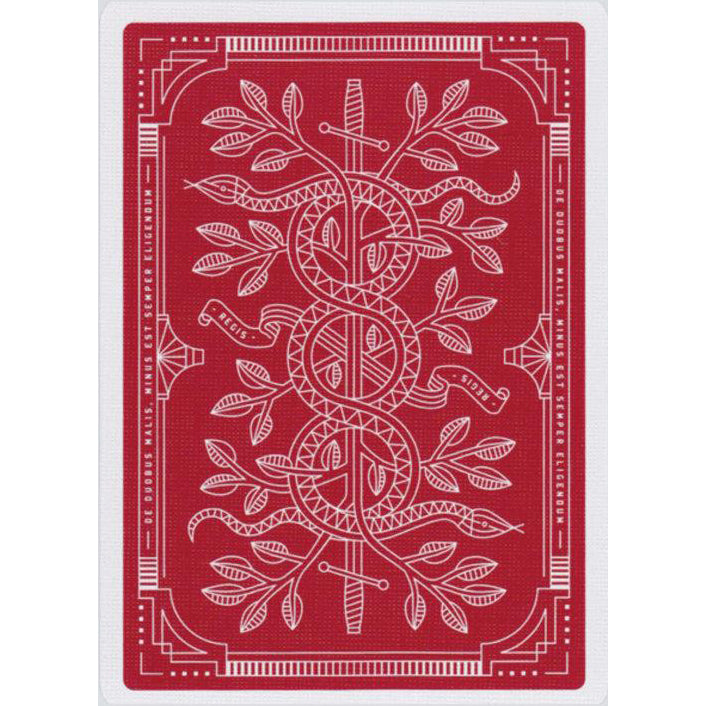 Monarchs Red Playing Cards