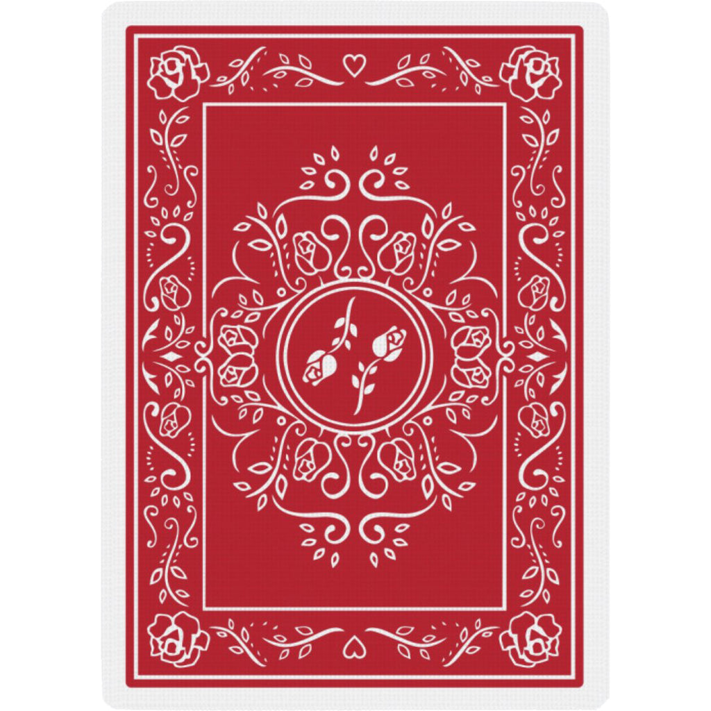 Black Roses Red Edition Playing Cards