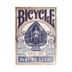 Bicycle Vintage Series 1900 Blue Playing Cards
