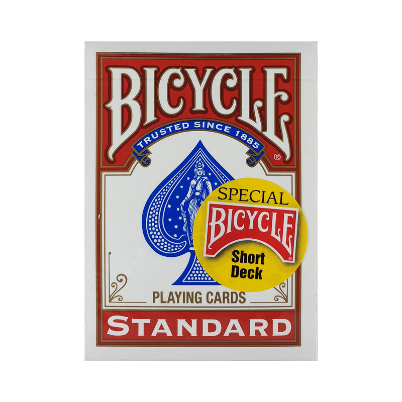 Bicycle Short Deck Red Playing Cards