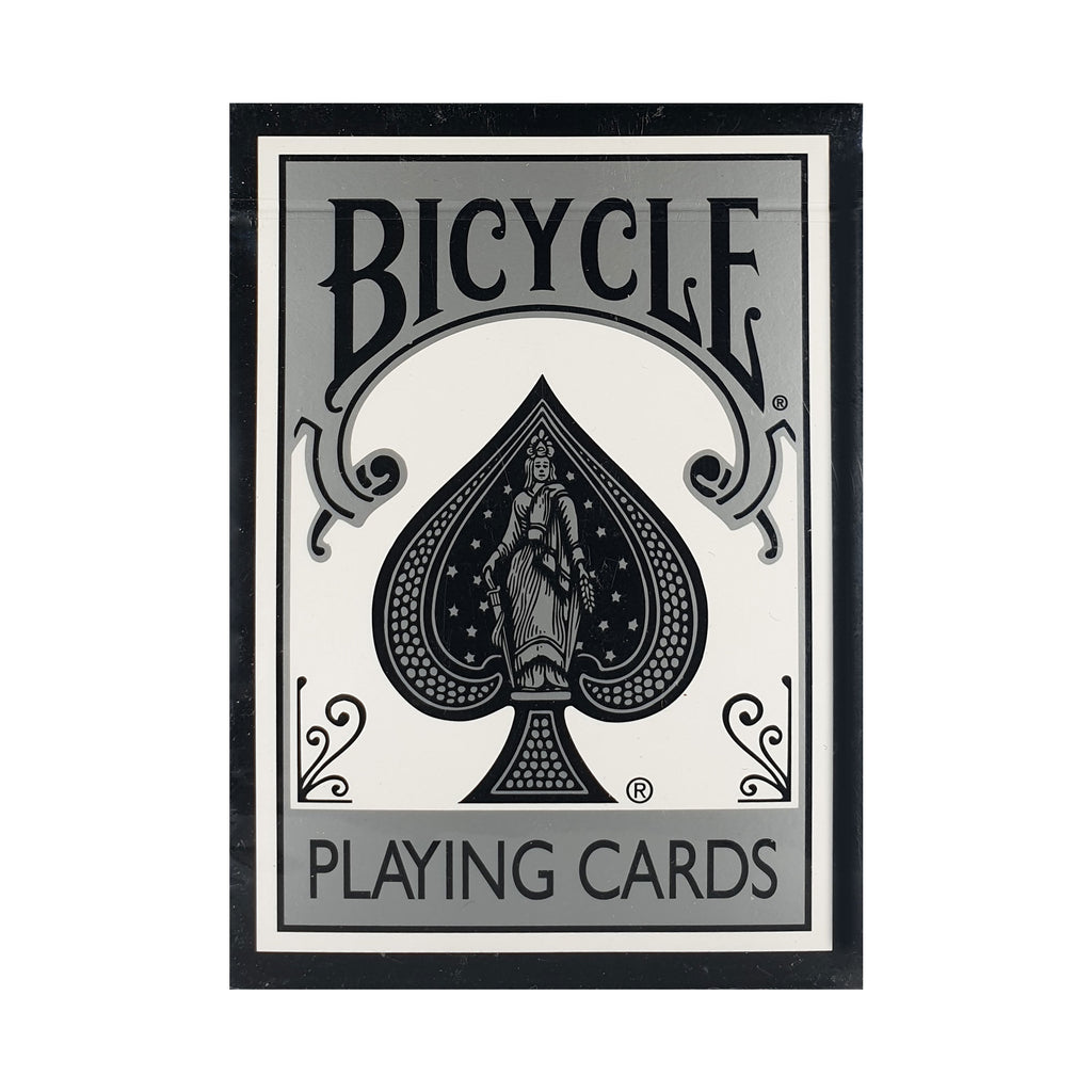 Bicycle Fashion Silver White (Ohio) Playing Cards