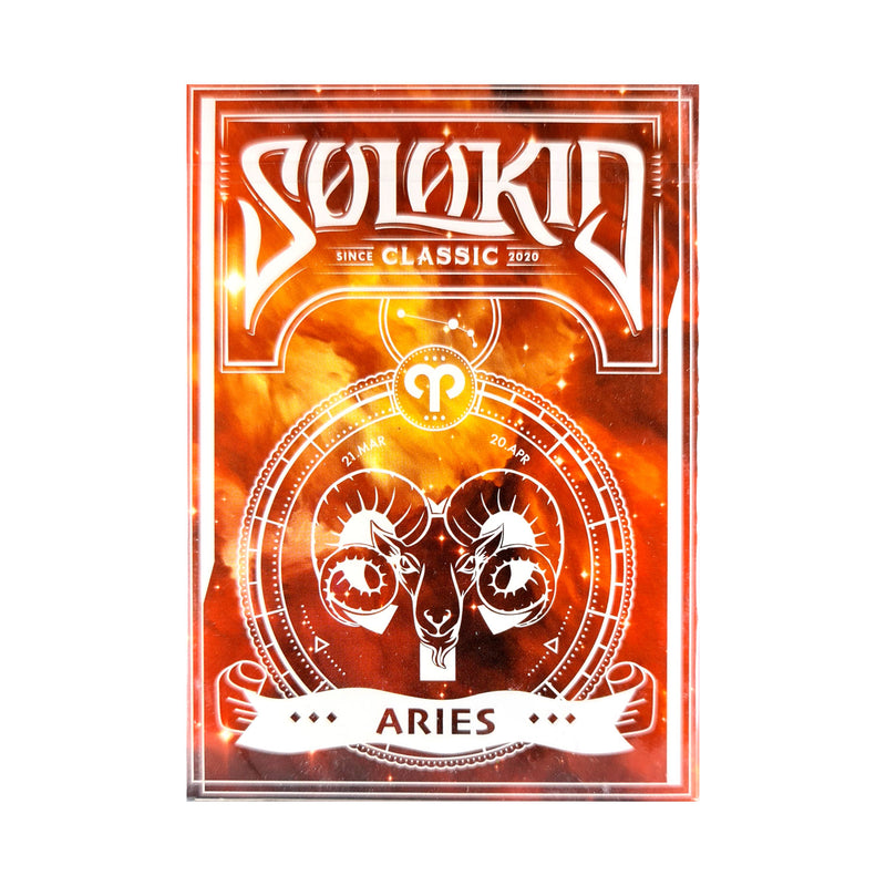 Solokid Constellation Series Aries Playing Cards