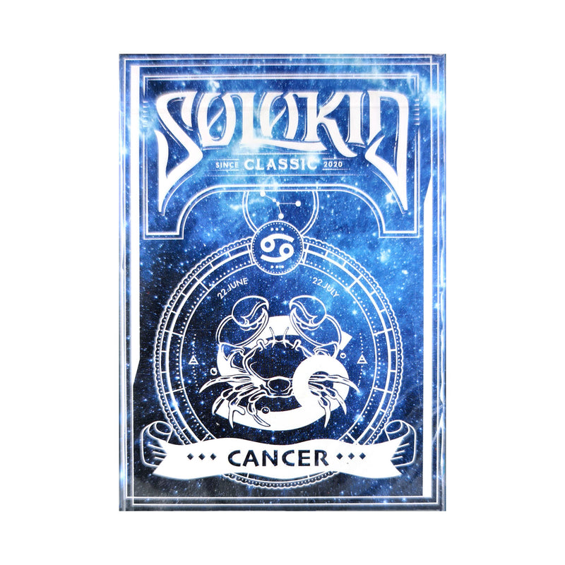 Solokid Constellation Series Cancer Playing Cards