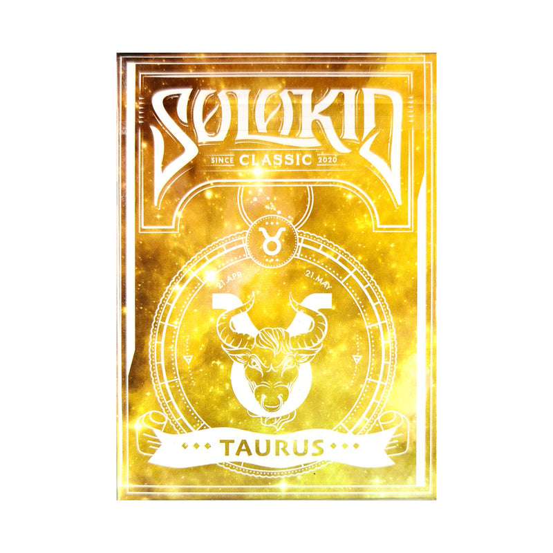 Solokid Constellation Series Taurus Playing Cards