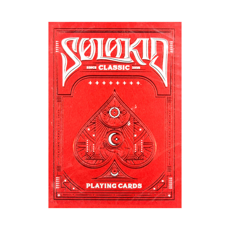 Solokid Ruby Playing Cards
