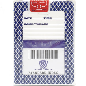 Bee Wynn Standard Index Blue Playing Cards