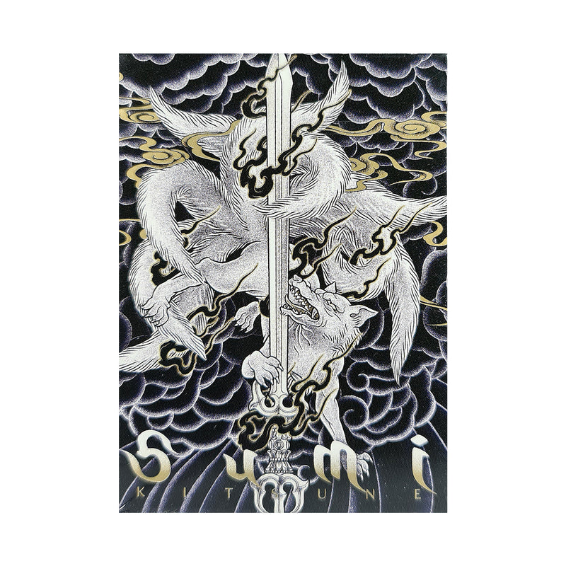 Sumi Kitsune Myth Maker Playing Cards