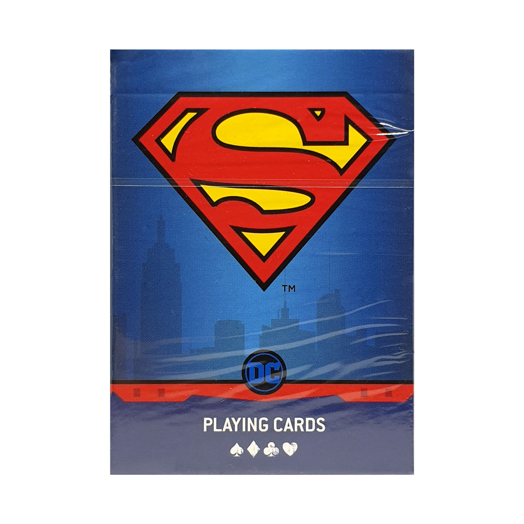 DC Super Heroes Superman Playing Cards