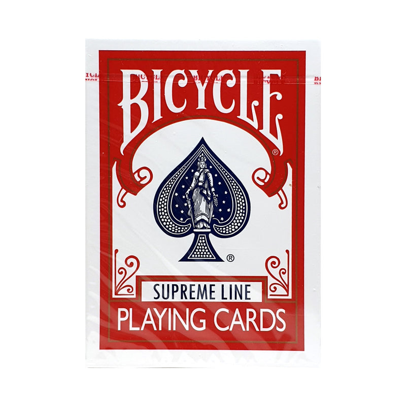 Bicycle Supreme Line Red Playing Cards