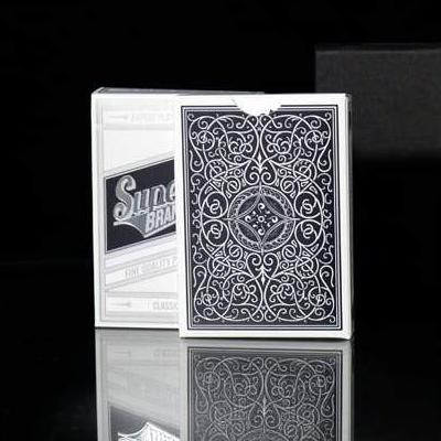 Superior Classic Back Black Playing Cards