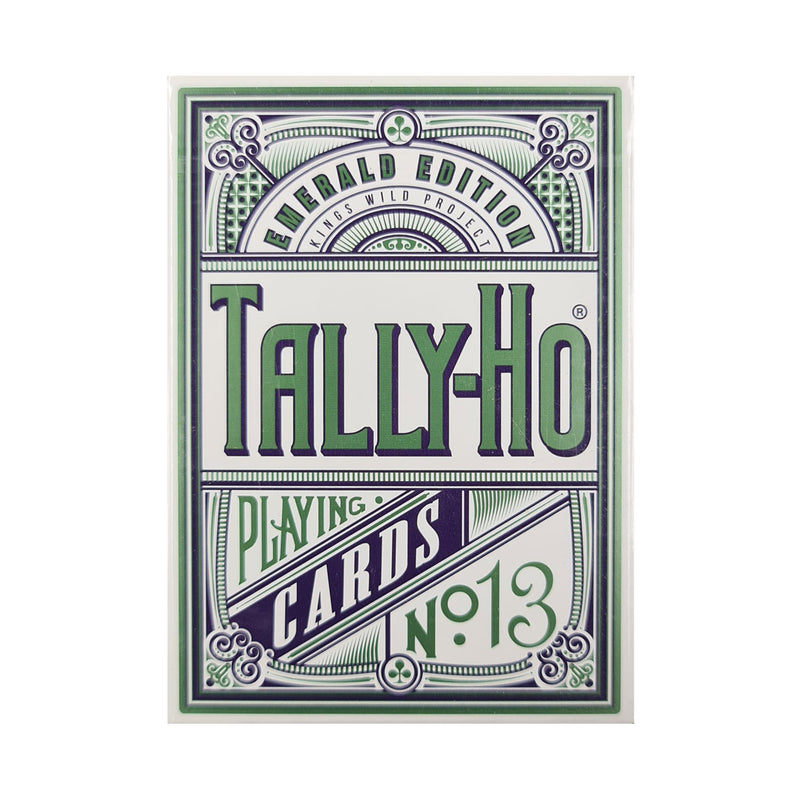 Tally-Ho Emerald Edition Playing Cards