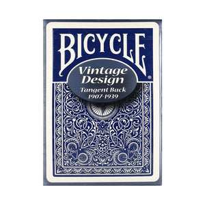 Bicycle Vintage Series Tangent Blue Playing Cards