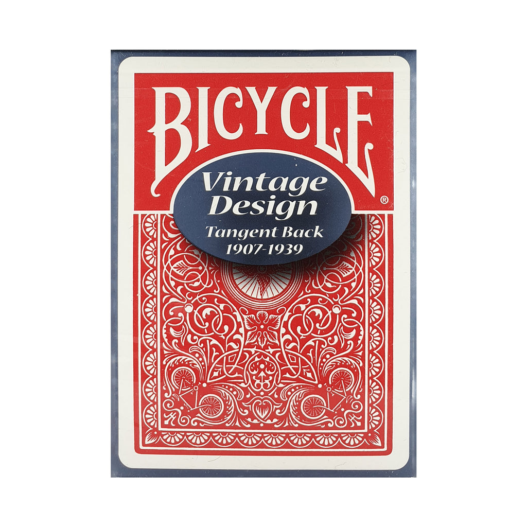 Bicycle Vintage Series Tangent Red Playing Cards