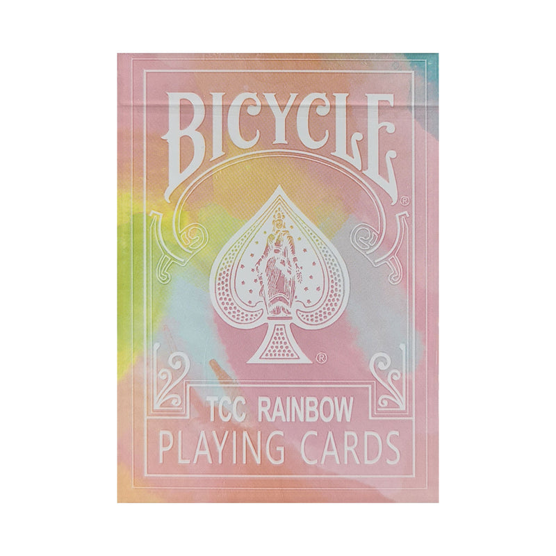 Bicycle Rainbow Peach Playing Cards