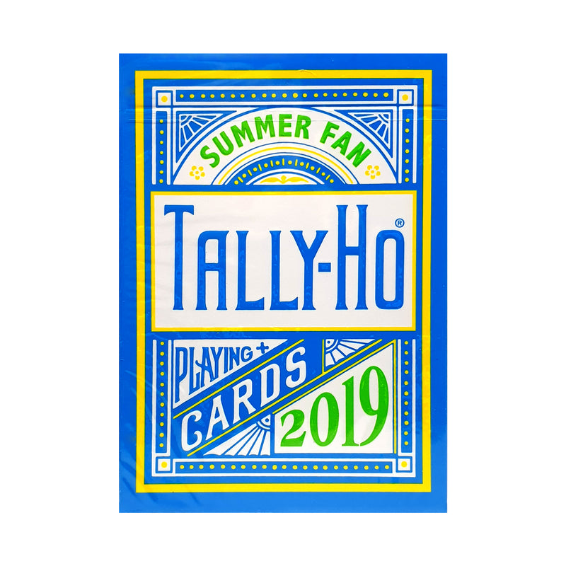 Tally-Ho Summer Fan Back 2019 Playing Cards