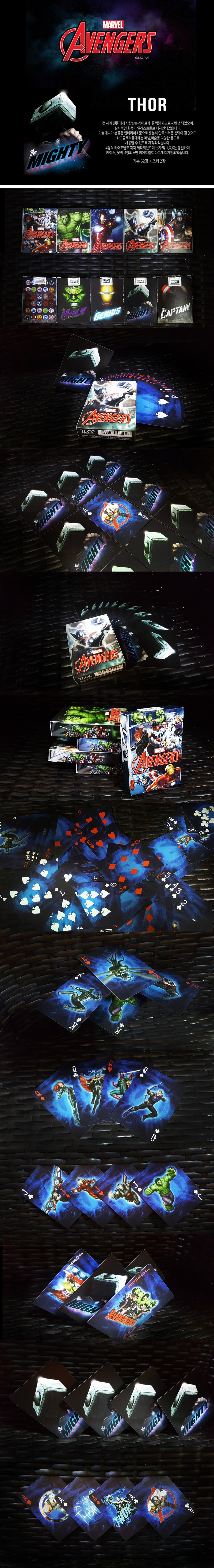 Marvel Avengers Thor Playing Cards