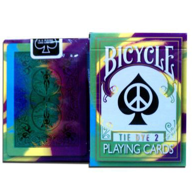 Bicycle Tie Dye v2 Playing Cards