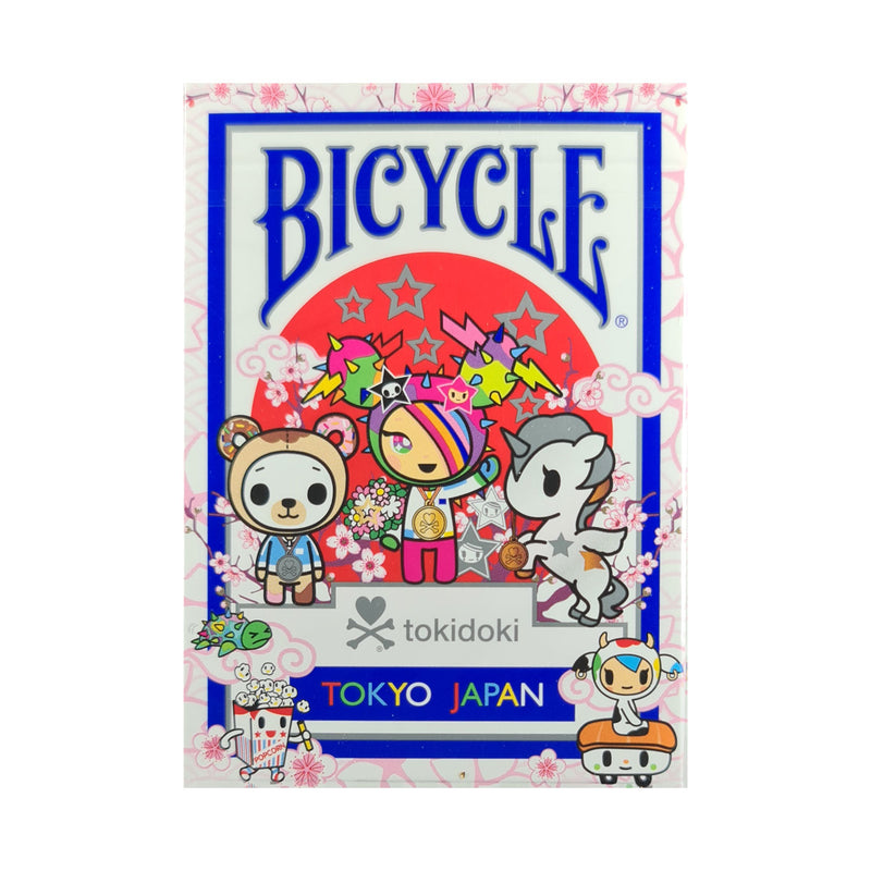 Bicycle Tokidoki Sports Blue Playing Cards