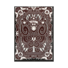 Totem Red Playing Cards