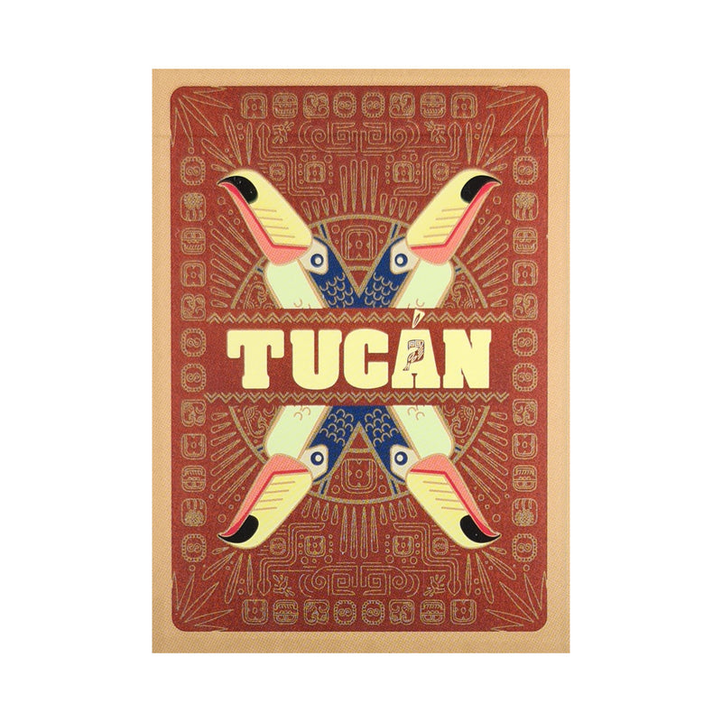 Tucan Cinnamon Back Playing Cards