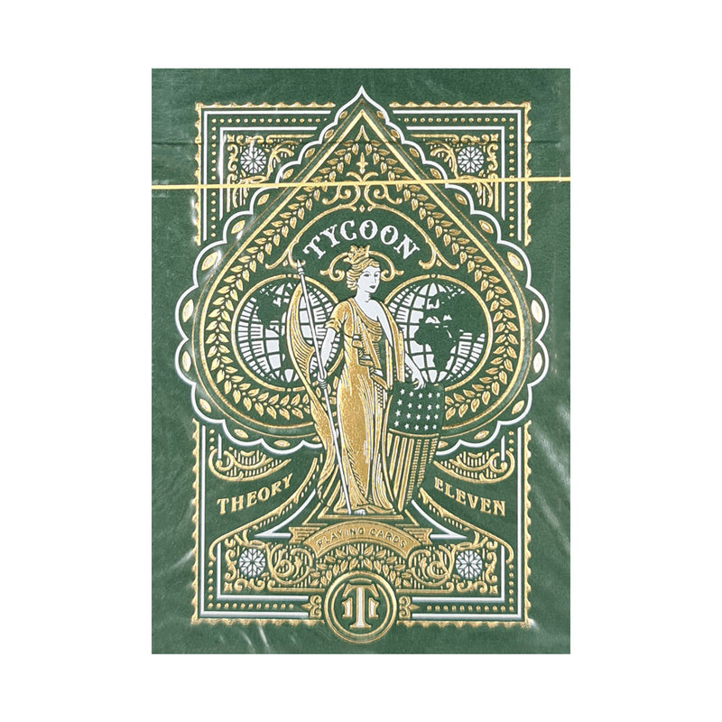 Tycoon Green Playing Cards