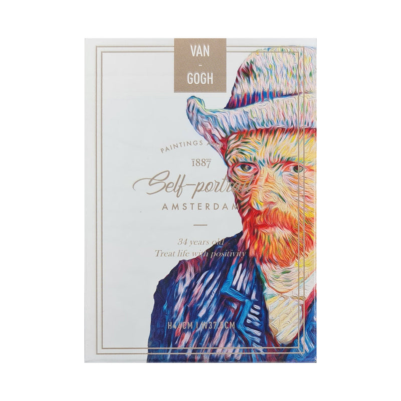 Van Gogh Self-Portrait Playing Cards