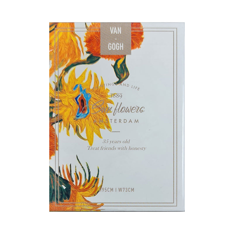 Van Gogh Sunflowers Edition Playing Cards