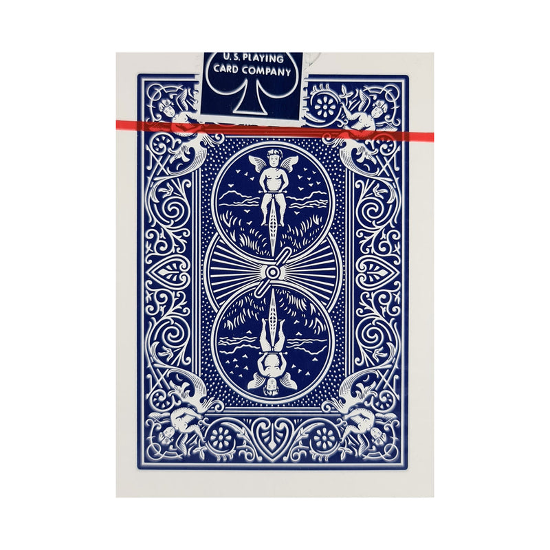 Bicycle Classic Rider Back Thin Crushed Blue Playing Cards
