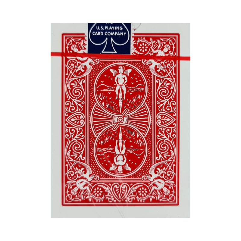 Bicycle Classic Rider Back Thin Crushed Red Playing Cards