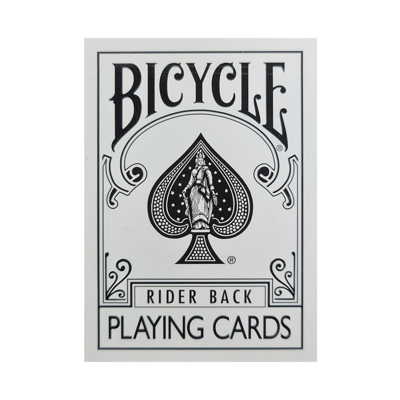 Bicycle Fashion White Playing Cards