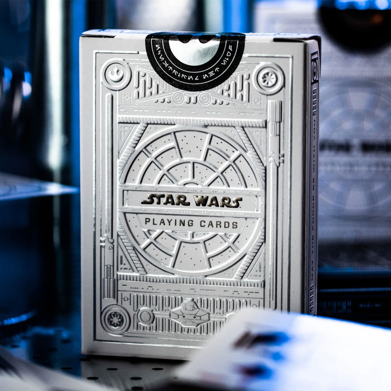 Star Wars Silver Edition Light Side Playing Cards