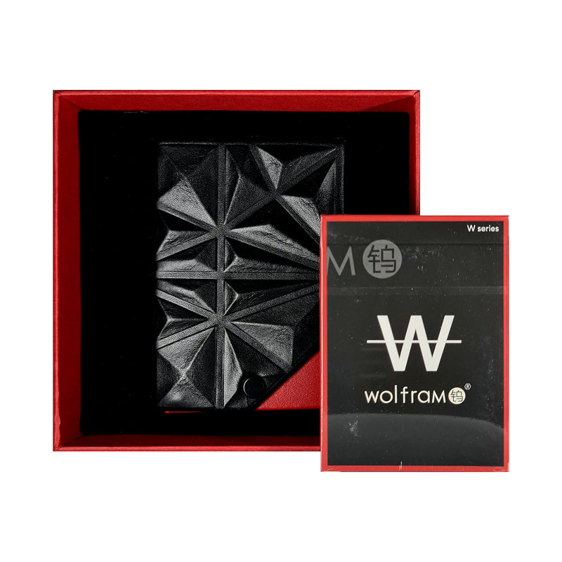 Wolfram Wouge et Noir Set Playing Cards