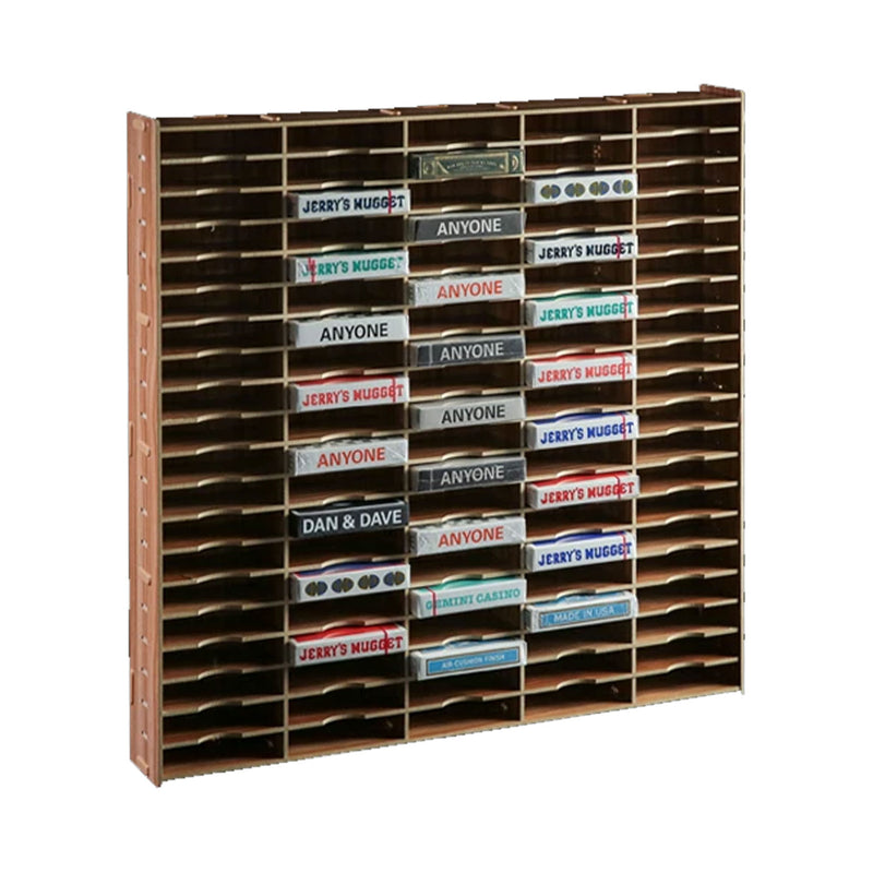 Playing Cards Wooden Display Case (100 Count)