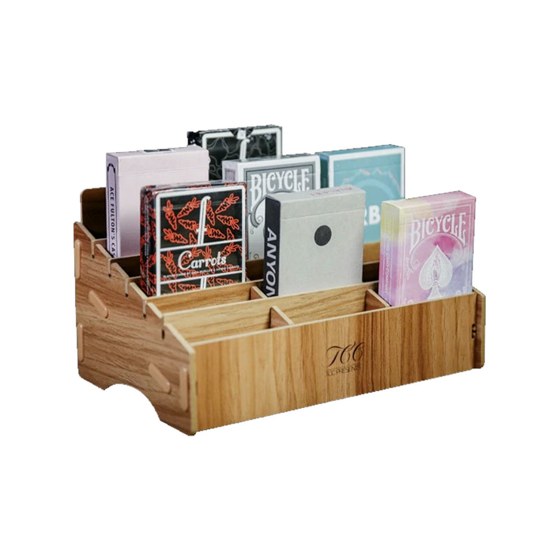 Playing Cards Wooden Display Case (18 Count)